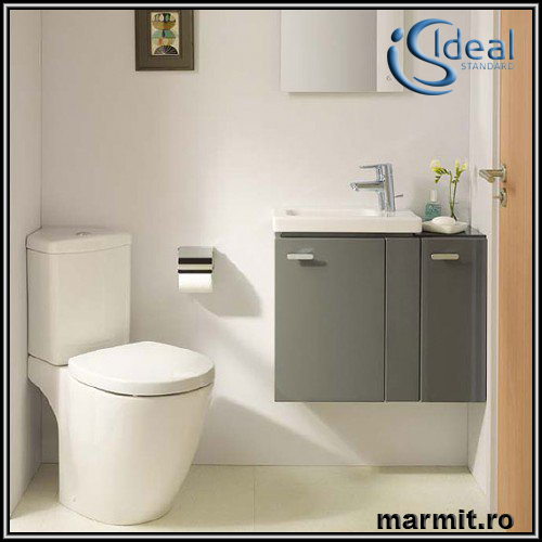 Set wc cu capac si rezervor pe colt Connect