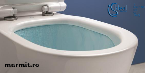 Wc suspendat Tesi AquaBlade cu capac soft-close