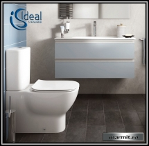 Wc complet Tesi Aquablade lipit de perete, capac soft-close
