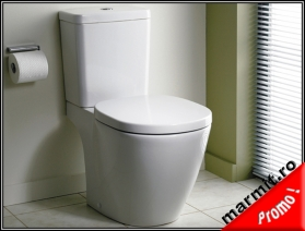 Wc Connect Cube cu rezervor si capac soft-close